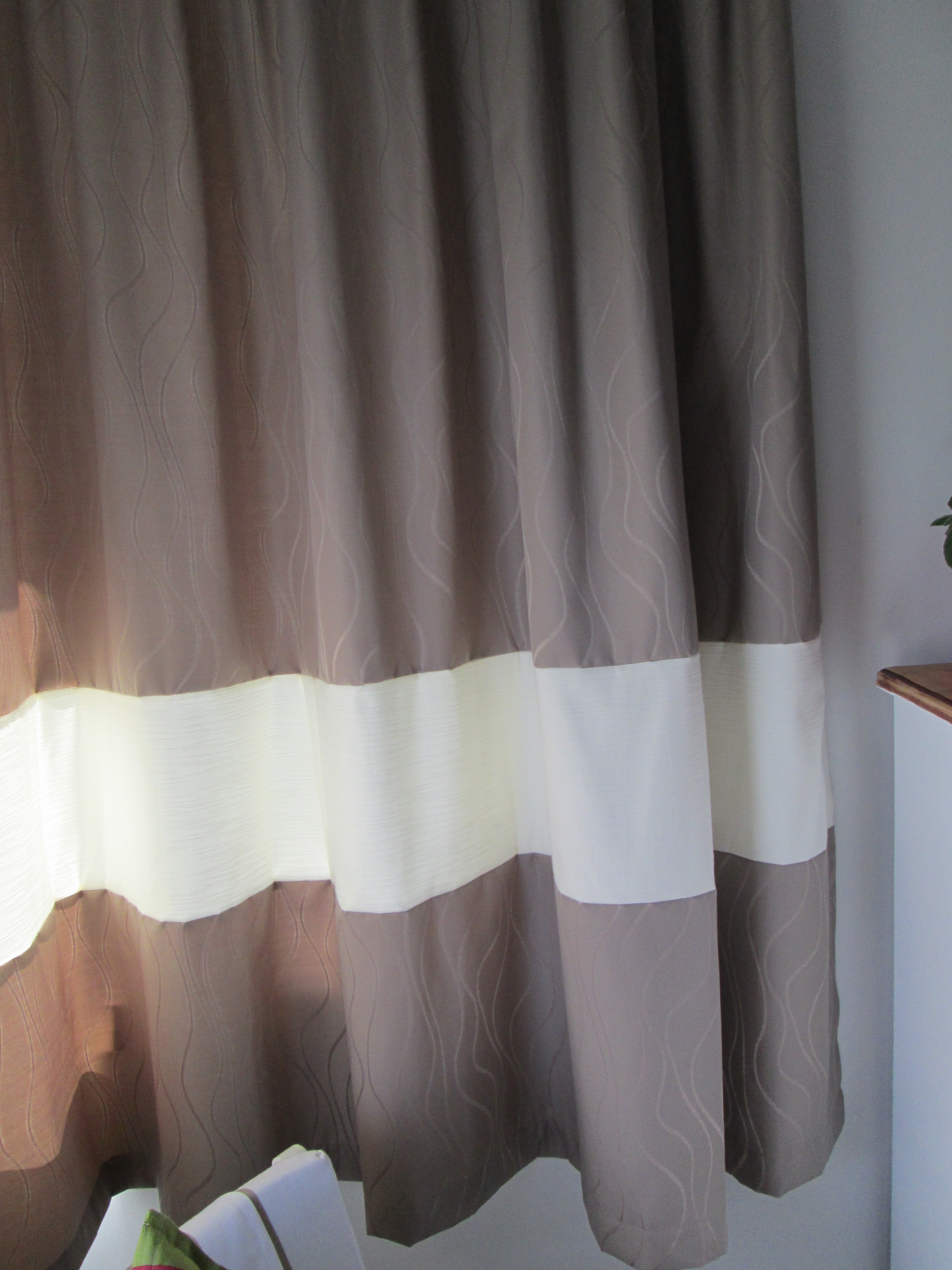 Extended Length Of Curtains In My Youngest Girls Room Cutting With Regard To Extended Length Curtains (Image 9 of 15)