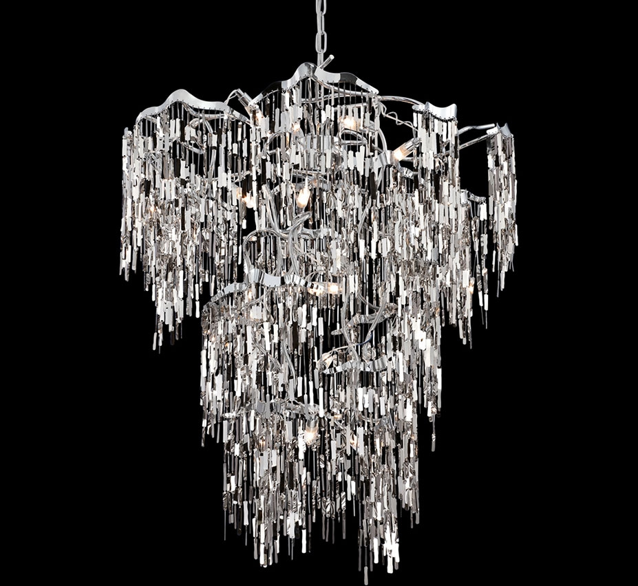 Extra Large Contemporary Modern Chandeliers 43 Above Throughout Large Contemporary Chandeliers (Image 8 of 15)