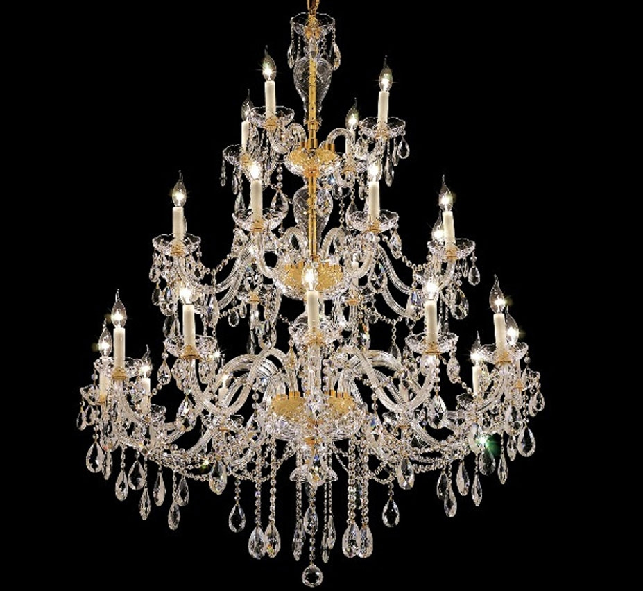 Extra Large Crystal Chandeliers 43 Above Grand Light Regarding Extra Large Chandeliers (Image 6 of 15)