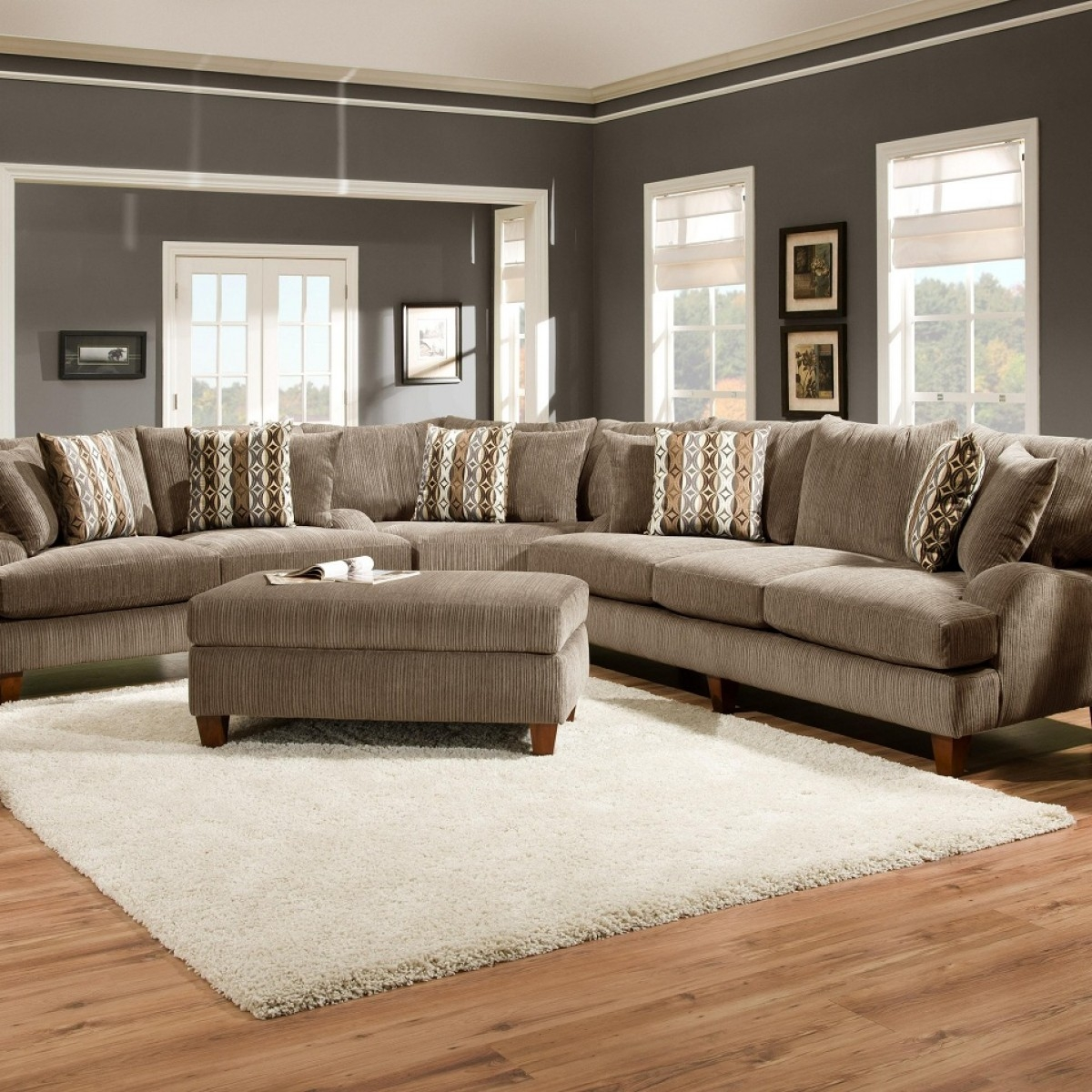 Extra Large Sectional Sofas For An Extra Large Living Room Pertaining To Extra Large Sectional Sofas (View 14 of 15)