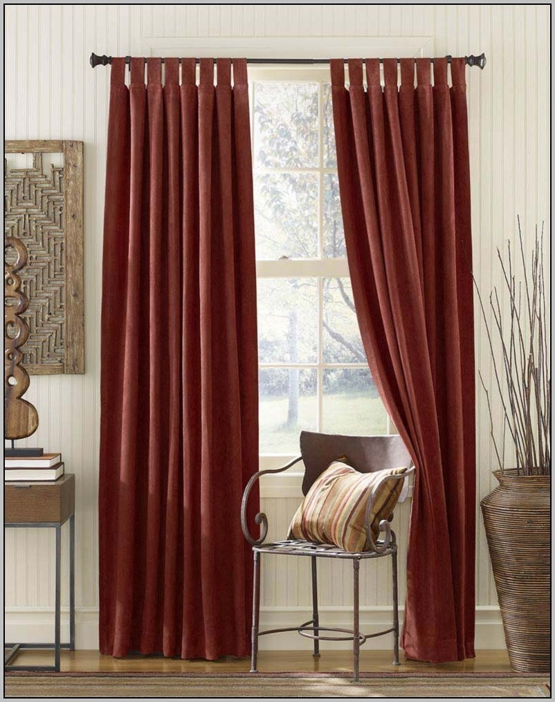 Extra Long And Wide Curtains With Regard To Extra Long Red Curtains (Image 7 of 15)
