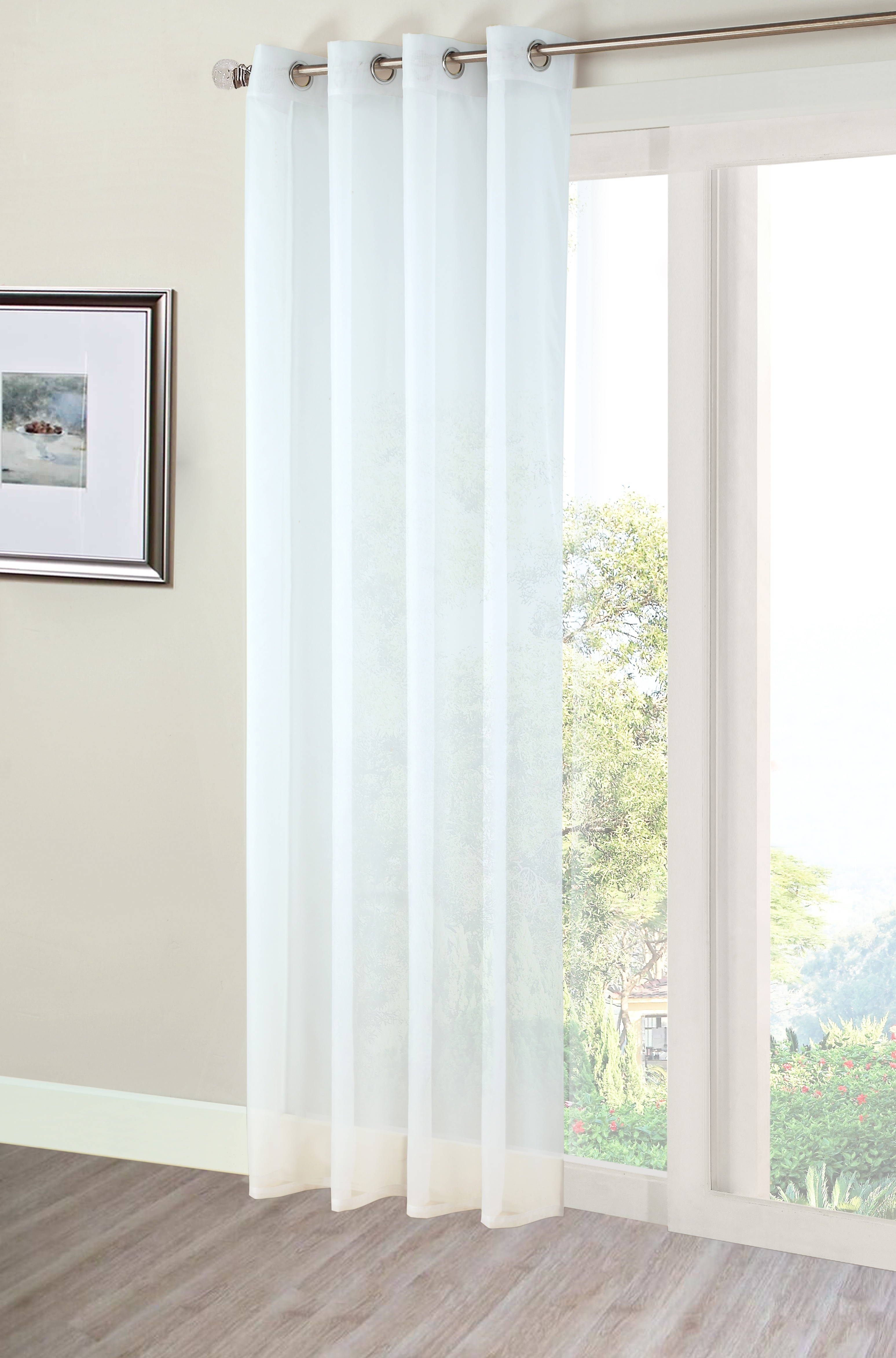 Featured Image of Extra Long Voile Curtains