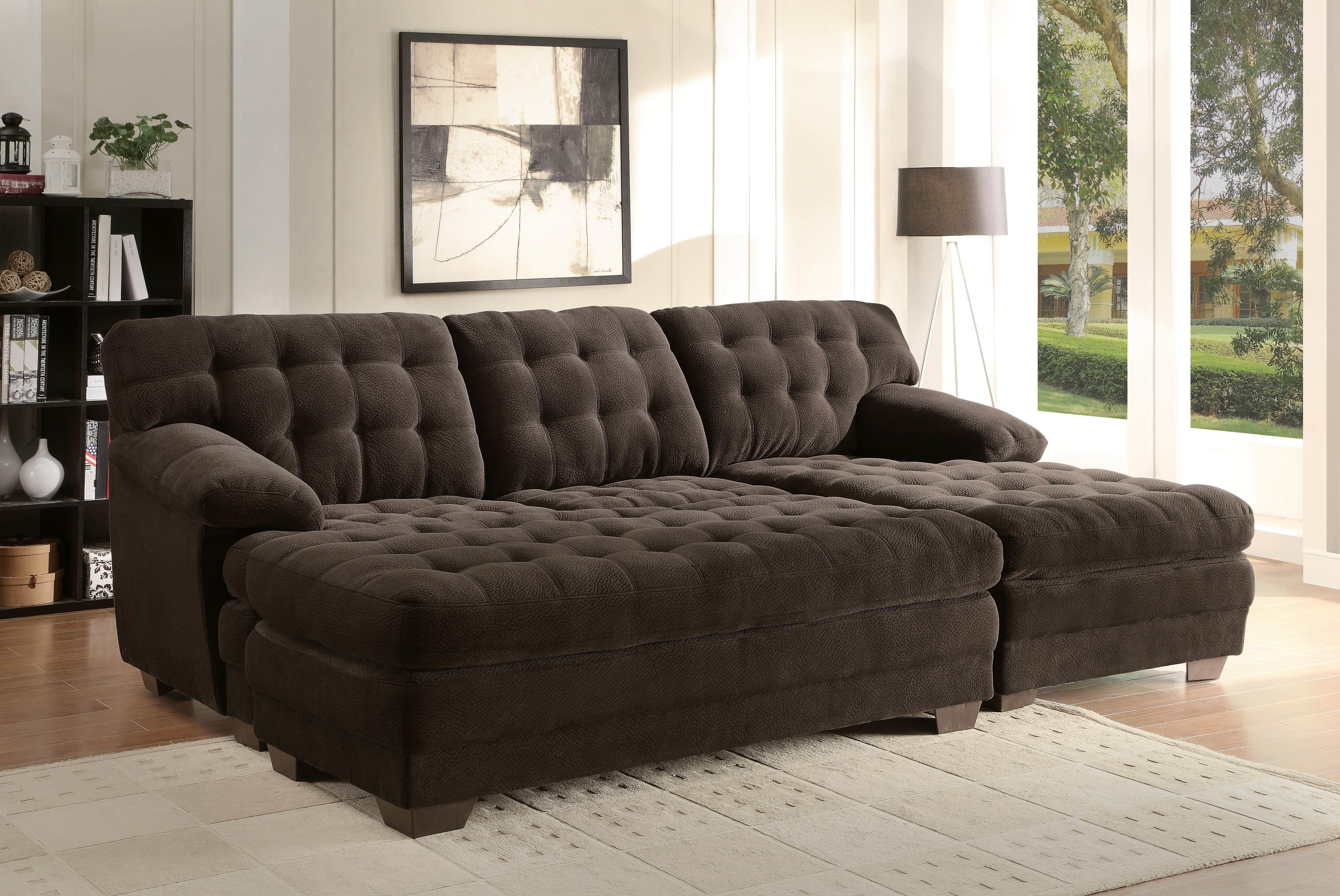 Extra Wide Sofa Bed Best Home Furniture Ideas Regarding Extra Wide Sectional Sofas (View 4 of 15)