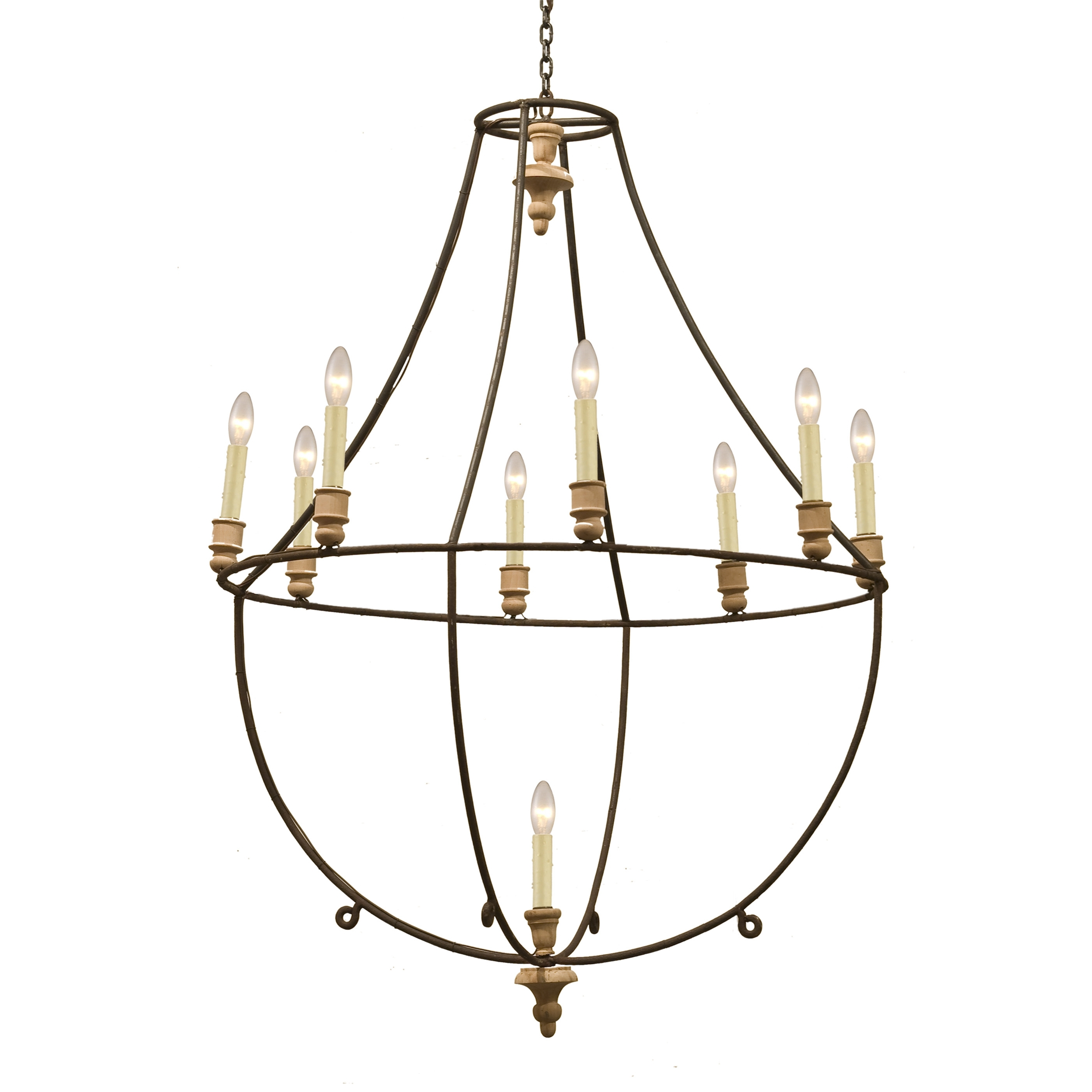Featured Image of Large Iron Chandelier