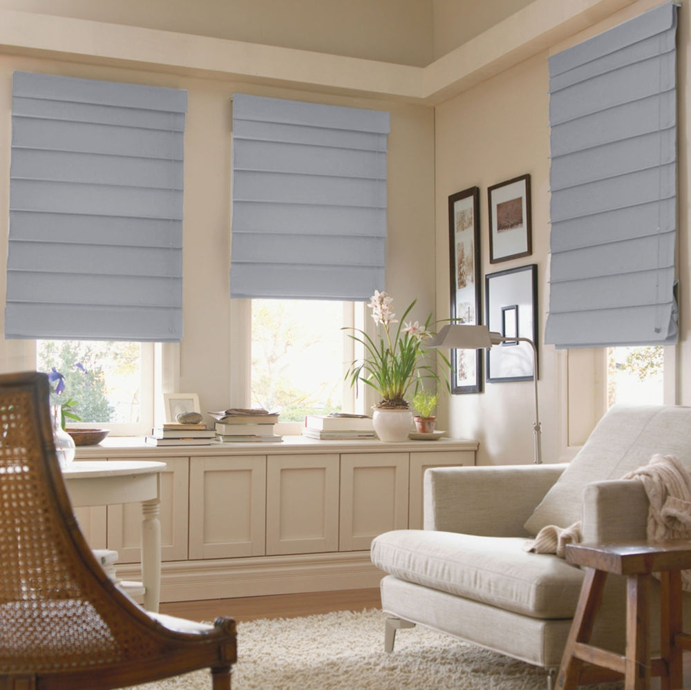 Featured Image of Thermal Lined Roman Shades