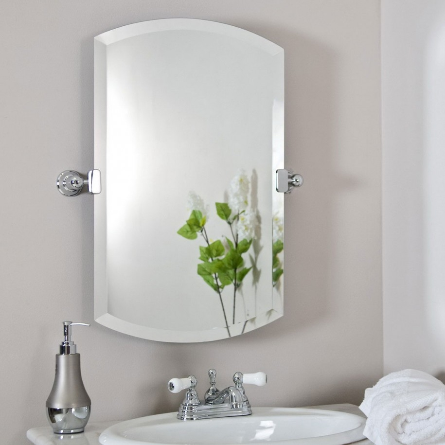 Fabulous Decorations Using Extra Large Bathroom Mirrors Extra Pertaining To Silver Bathroom Mirror Rectangular (Image 7 of 15)