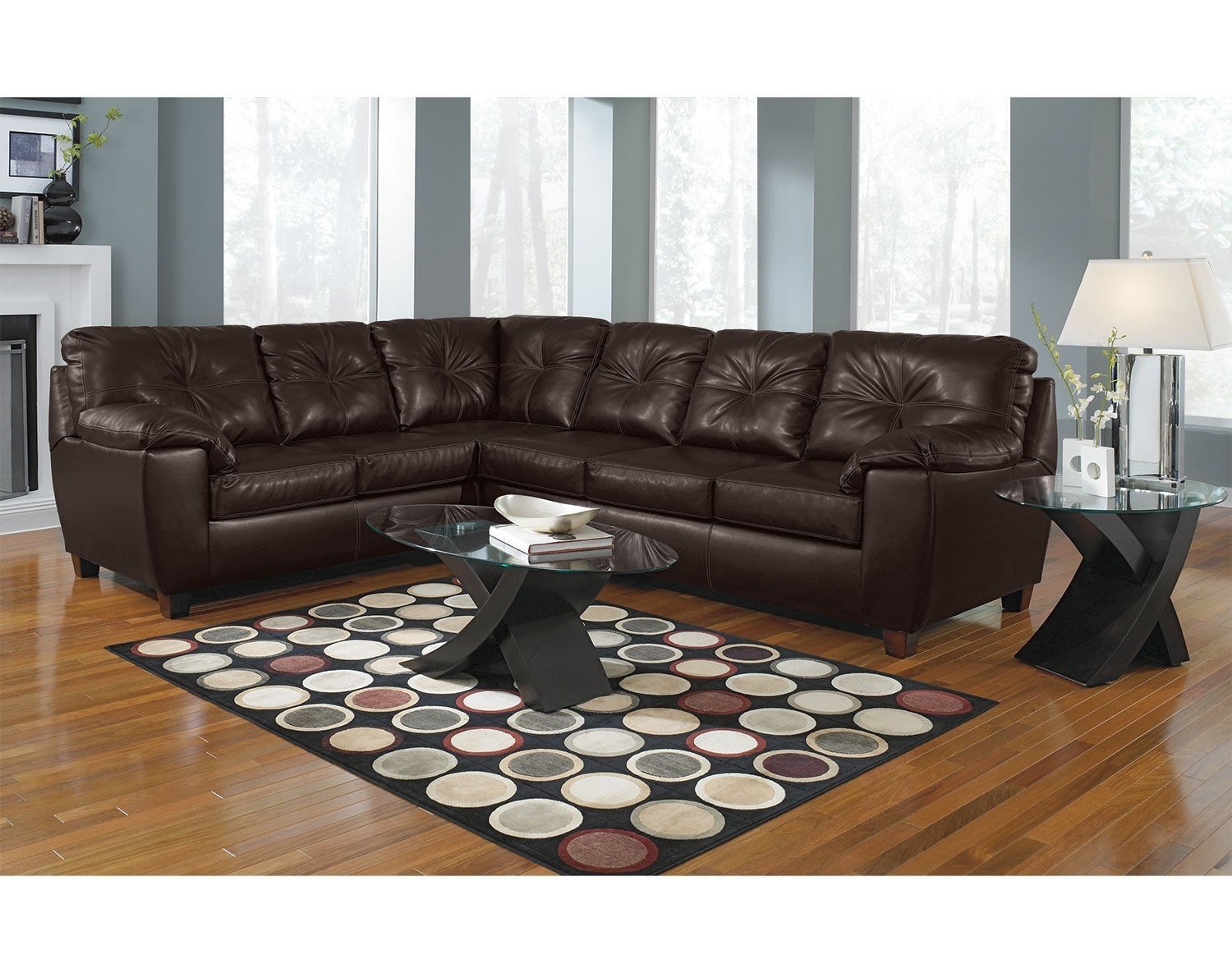 Factory Outlet Home Furniture American Signature Furniture Inside Closeout Sectional Sofas (Image 5 of 15)
