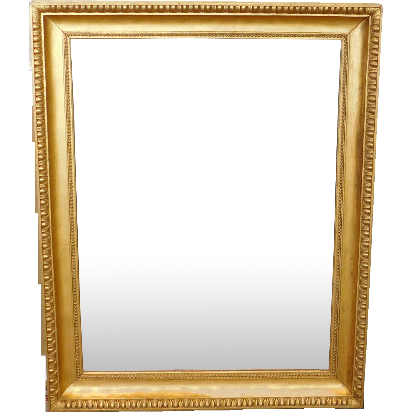 Fantastic Regency Style Gilded Frame Rectangular Hanging Wall Pertaining To Gilded Mirrors For Sale (View 15 of 15)