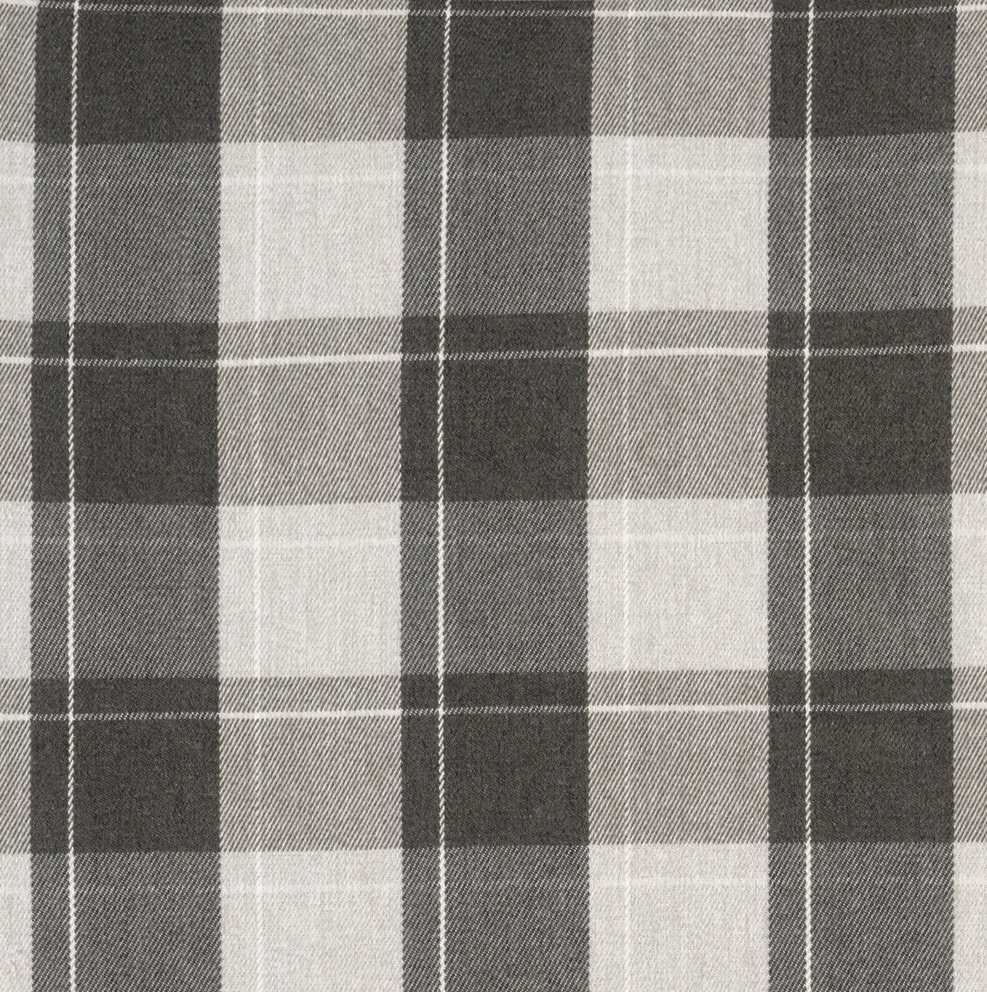 Fellcroft Charcoal Roman Blind Plaid Check Roman Blinds Roman Within Plaid Roman Blinds (Image 3 of 15)