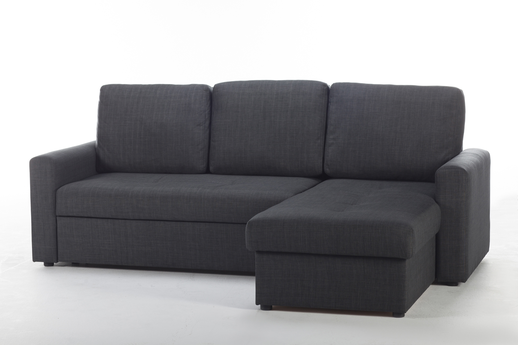 Fethiye Dark Grey Fabric Sectional Sofa Sunset With Fabric Sectional Sofa (Image 6 of 15)