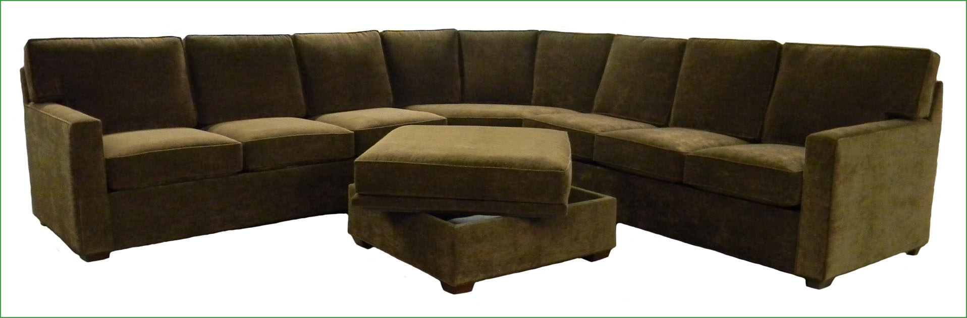 Finally A Sectional Couch Fit For An Sf Condo Custom Made Intended For Custom Made Sectional Sofas (Image 11 of 15)