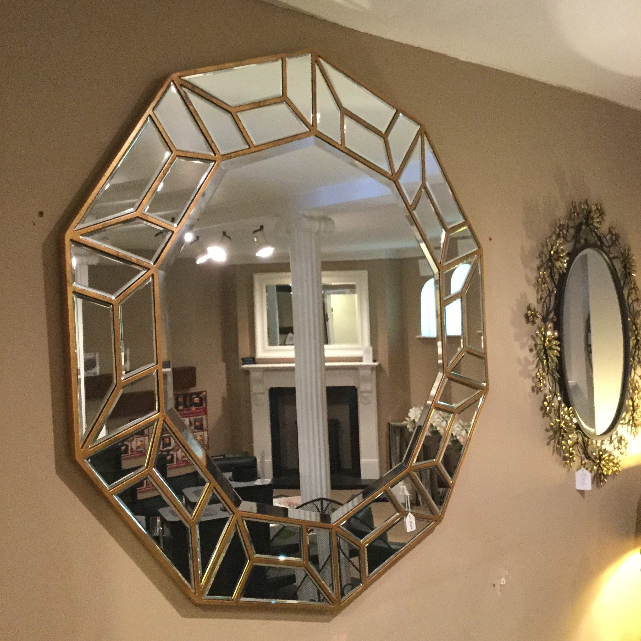 Fireplace Sale Showroom Near Halstead Pertaining To Mirrors For Sale (Image 6 of 15)