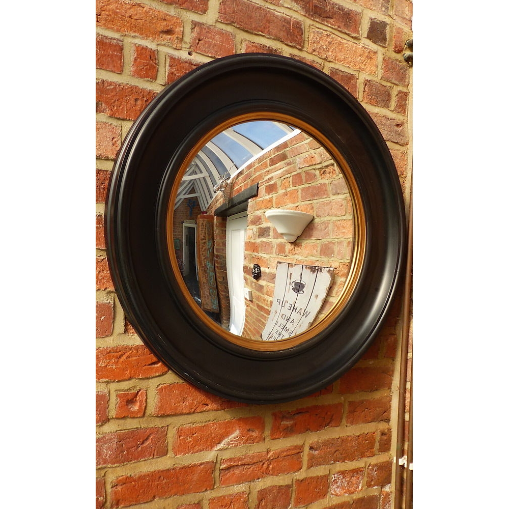 Fish Eye Convex Nautical Mirror For Vintage Home Interiors Throughout Convex Porthole Mirror (Image 4 of 15)