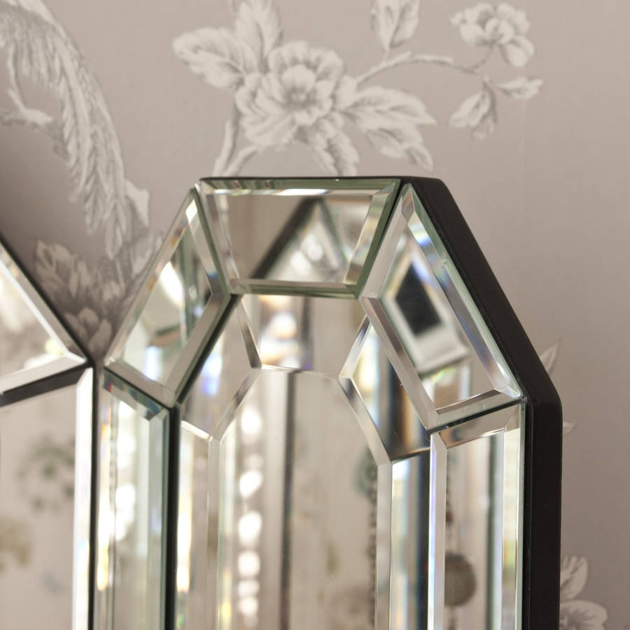 Flat Top Arch Dressing Table Mirror Decorative Mirrors Online Intended For Decorative Table Mirrors (Image 8 of 15)
