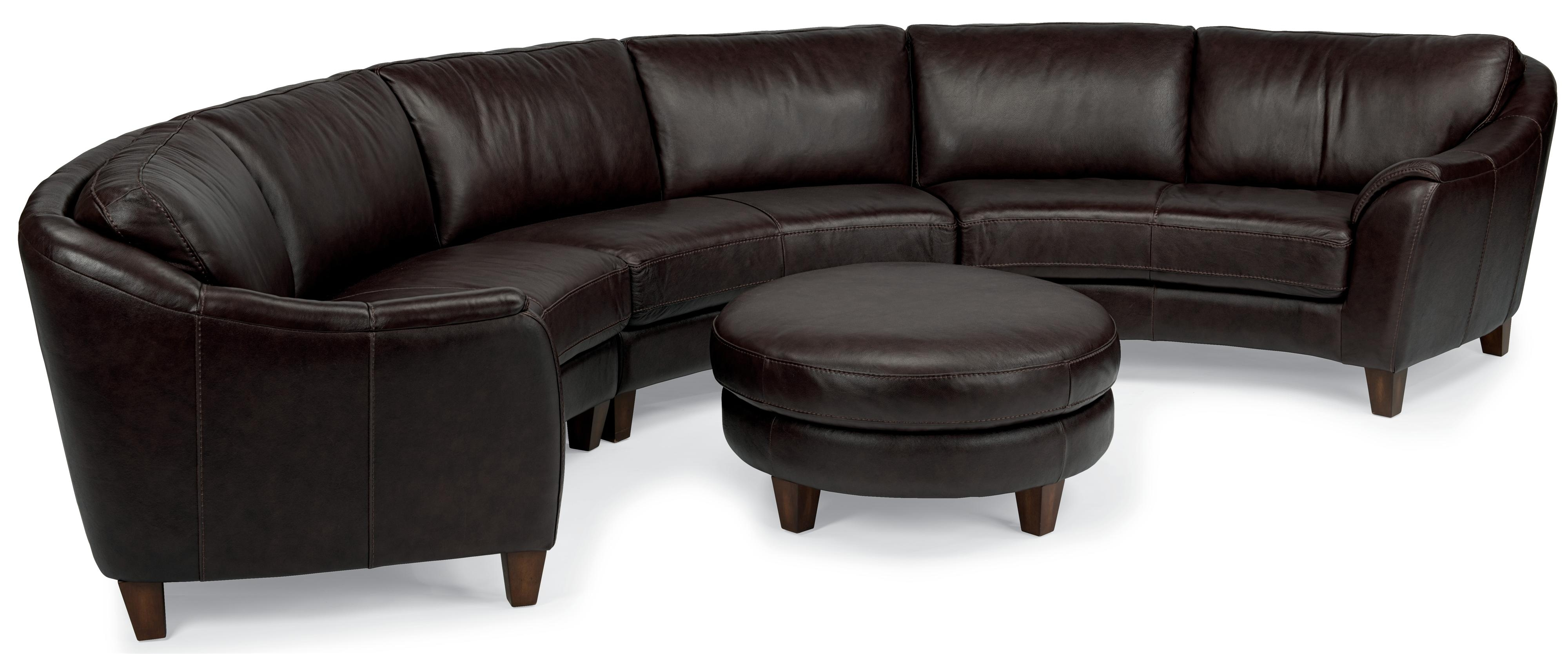 Flexsteel Latitudes Lidia Contemporary Three Piece Conversation Pertaining To Conversation Sofa Sectional (View 3 of 15)