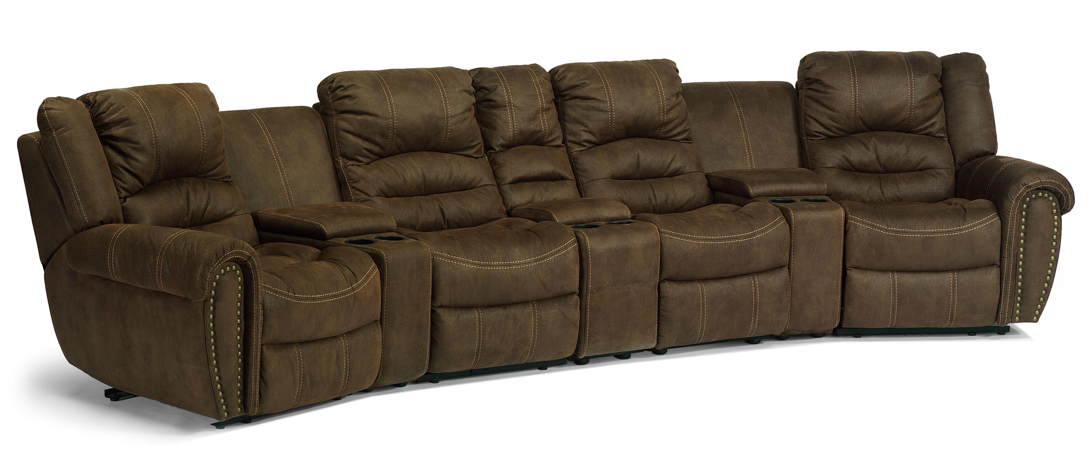 Featured Image of Curved Recliner Sofa
