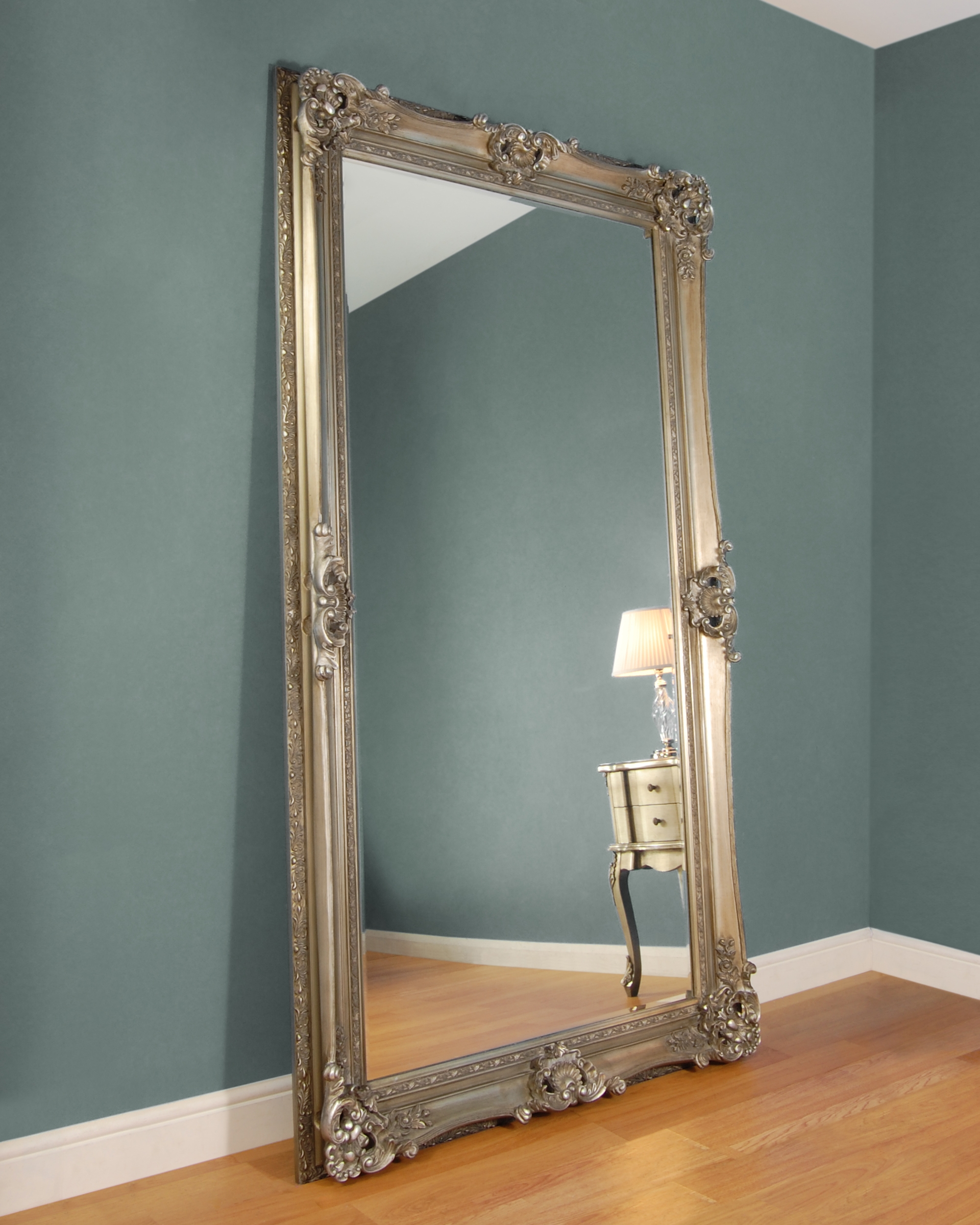 Floor Mirrors Floor Mirror Range The C M Company Regarding Rococo Floor Mirror (Image 7 of 15)