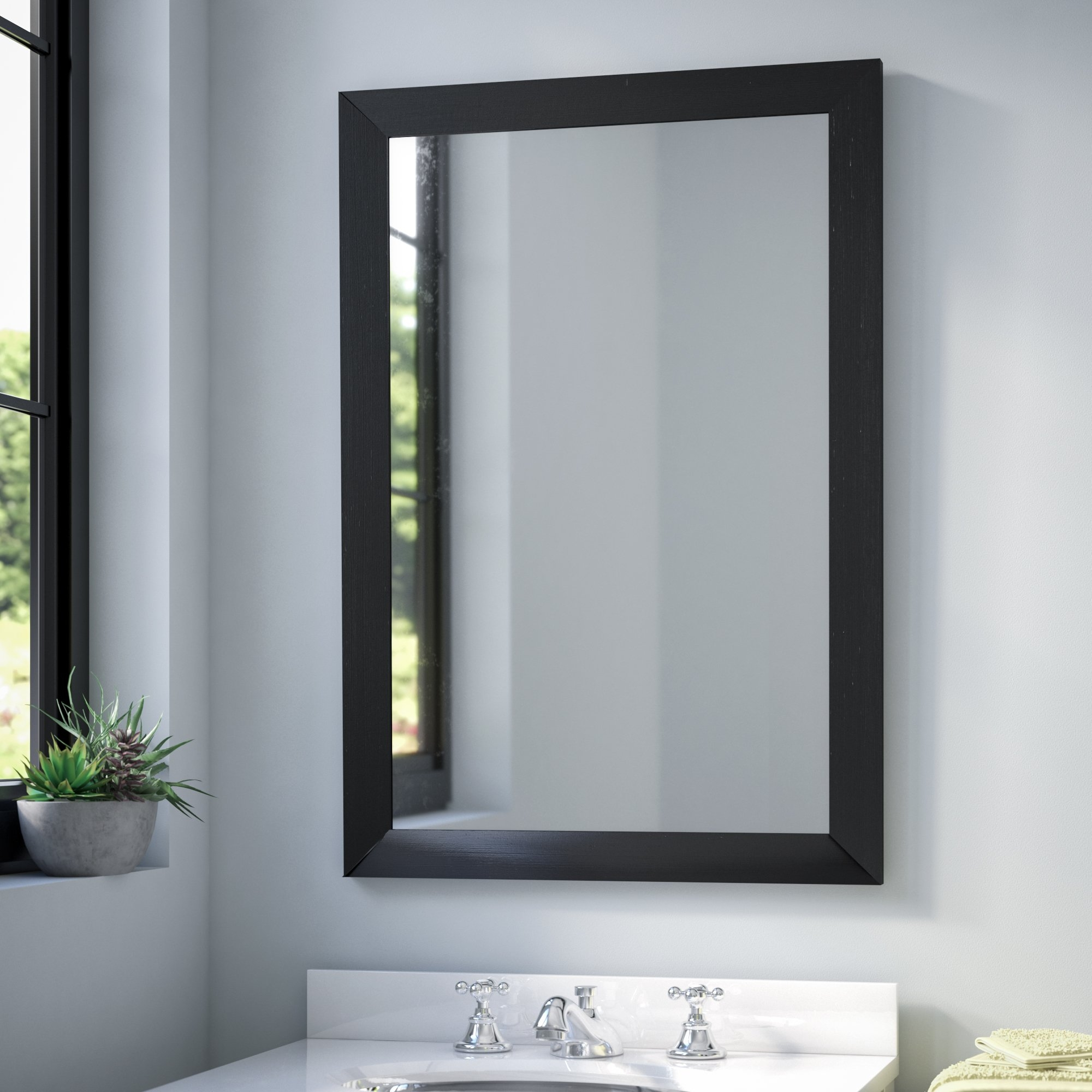 Floor Mirrors Youll Love Wayfair With Regard To Large Ornate Silver Mirror (Image 6 of 15)