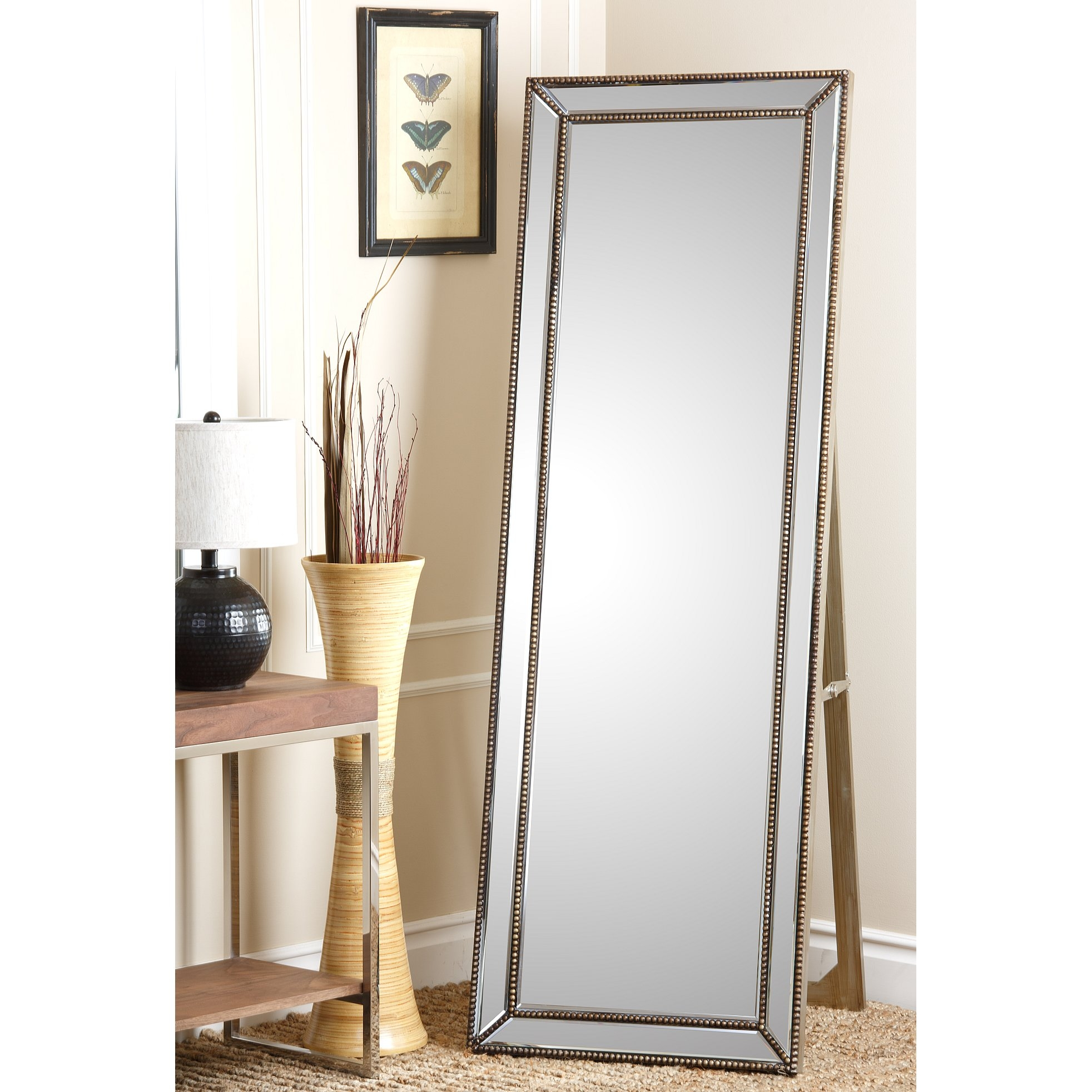 Floor Standing Mirror Gold Floor Ideas Pertaining To Gold Standing Mirror (View 15 of 15)