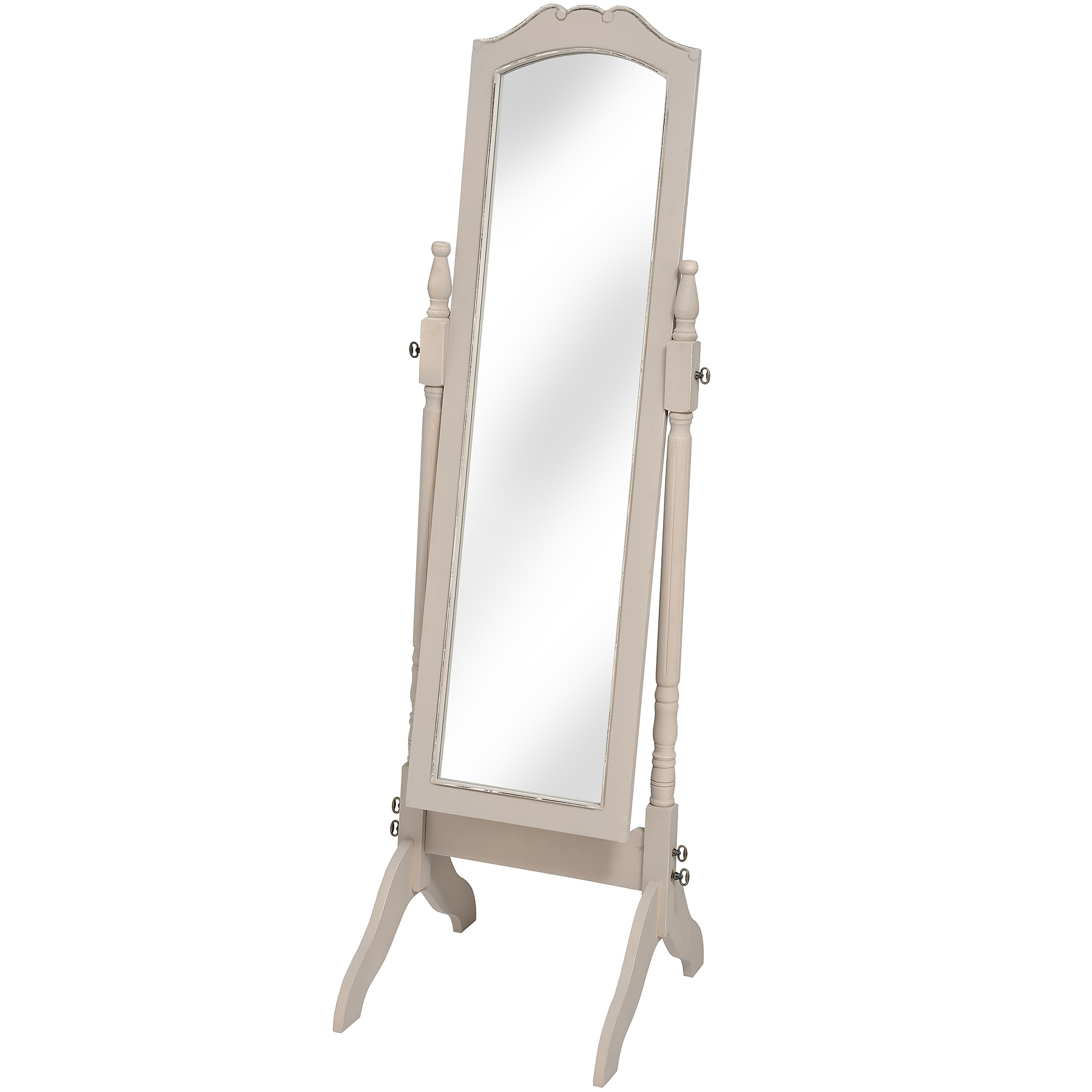 Floor Standing Mirror Standing Mirror And Louisiana On Pinterest In Shabby Chic Floor Standing Mirror (Image 9 of 15)