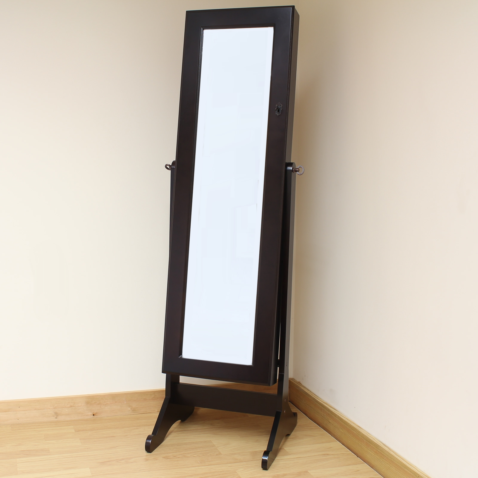 Flooring Decorative Full Length Wall Mirror Tonyswadenalocker For Black Floor Standing Mirror (Image 7 of 15)