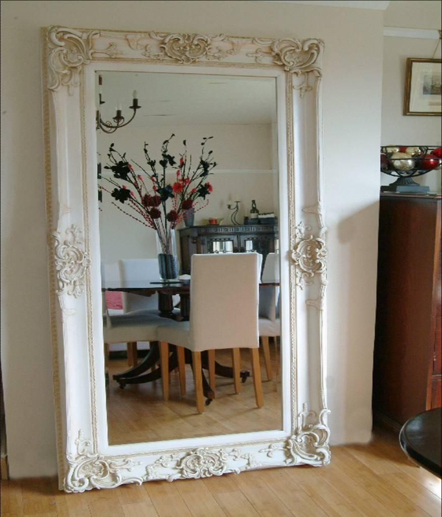 Flooring Extra Large Leaning Floor Mirror Standslarge Gold For Big Ornate Mirrors (Image 8 of 15)