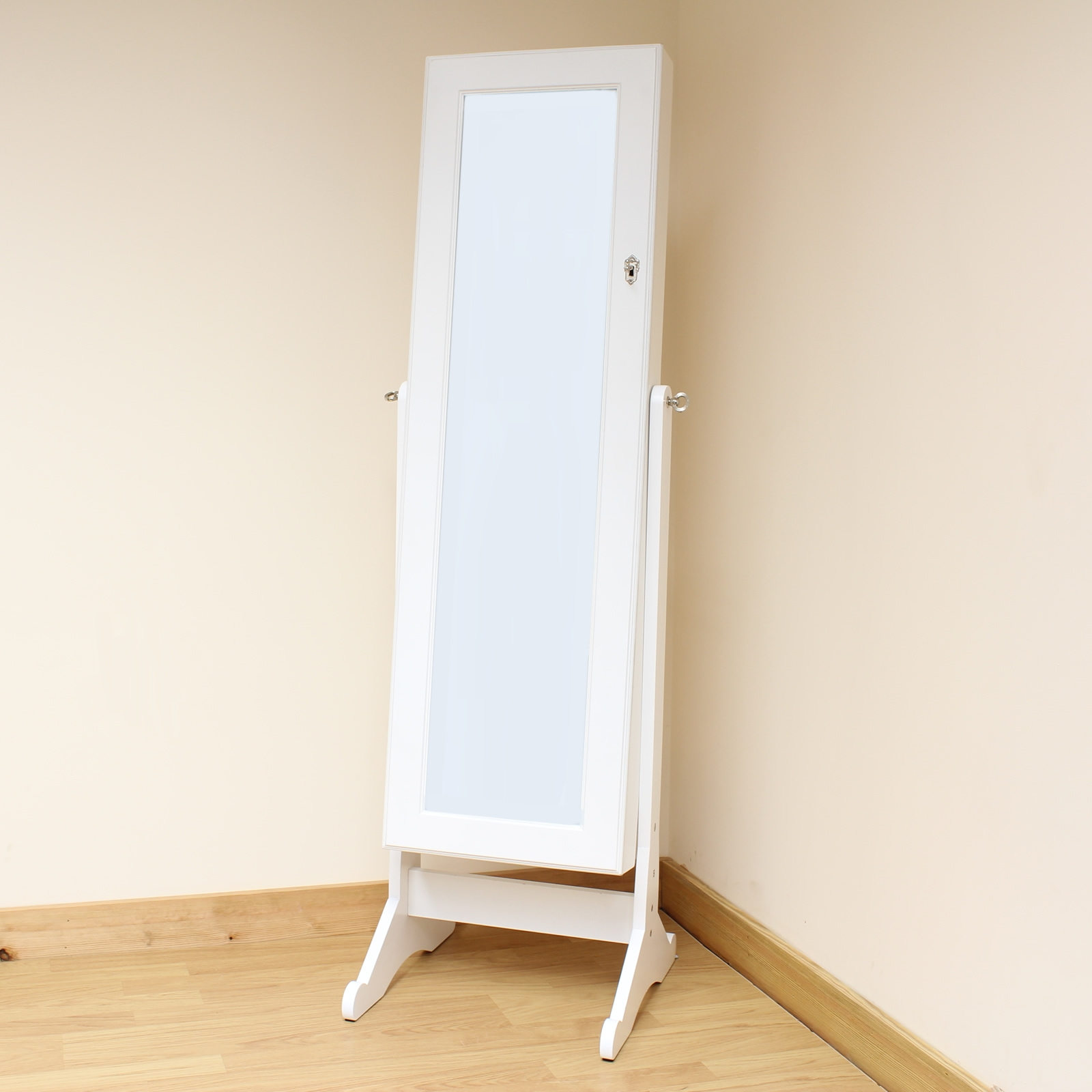 Flooring Floor Length Mirrors Incredible Images Design Ornate Regarding Shabby Chic Free Standing Mirror (View 14 of 15)