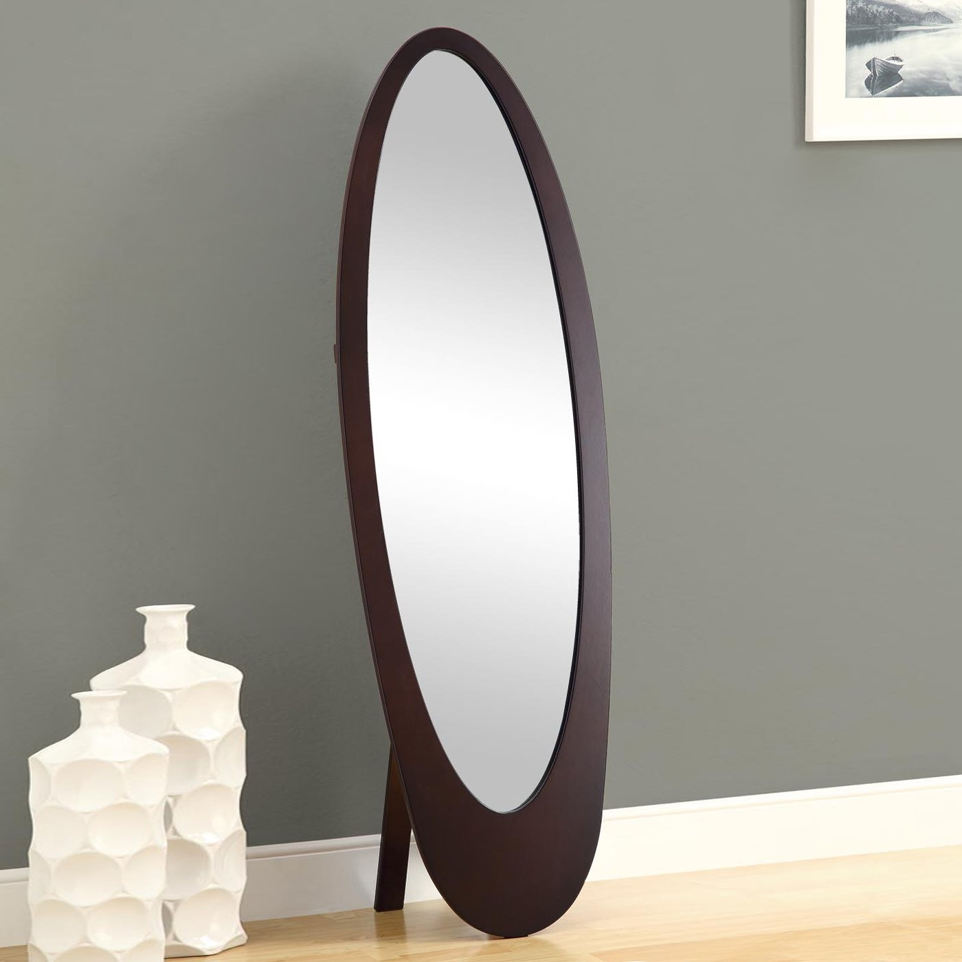Flooring Imposing Floording Mirror Photos Inspirations Houses For Free Standing Oval Mirror (Image 9 of 15)