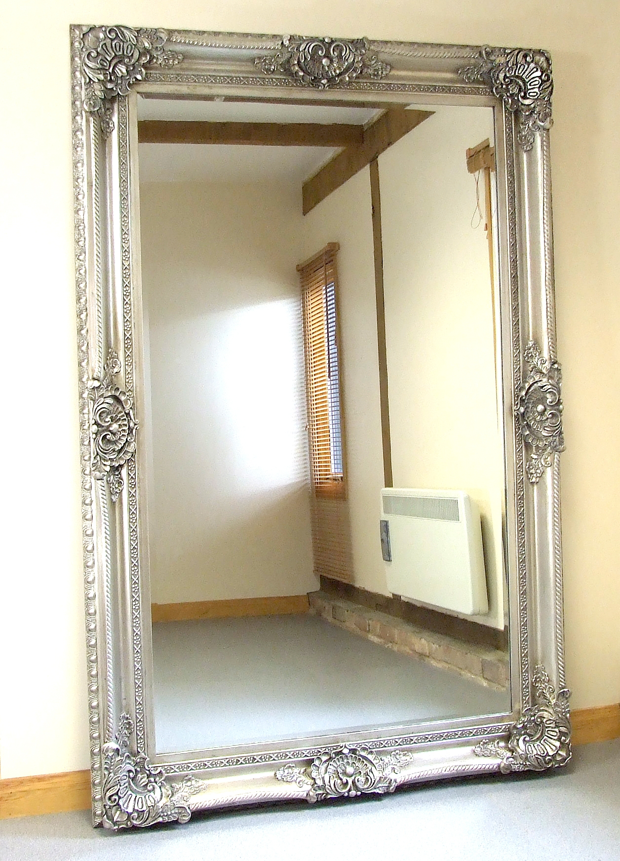 Flooring Impressive Ornate Floor Mirror Photo Designngth Intended For Oversized Mirrors For Sale (Image 10 of 15)