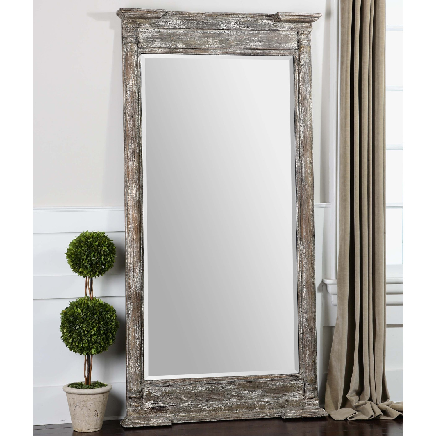 Flooring Incredible Full Length Floor Mirror Pictures With Full Length Antique Mirror (Image 11 of 15)