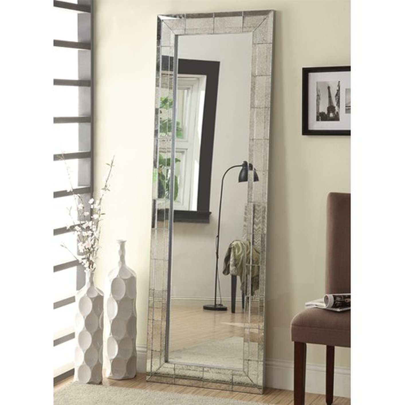 Flooring Shocking Floor Length Mirror Picture Ideas Antique Regarding Antique French Floor Mirror (Image 12 of 15)