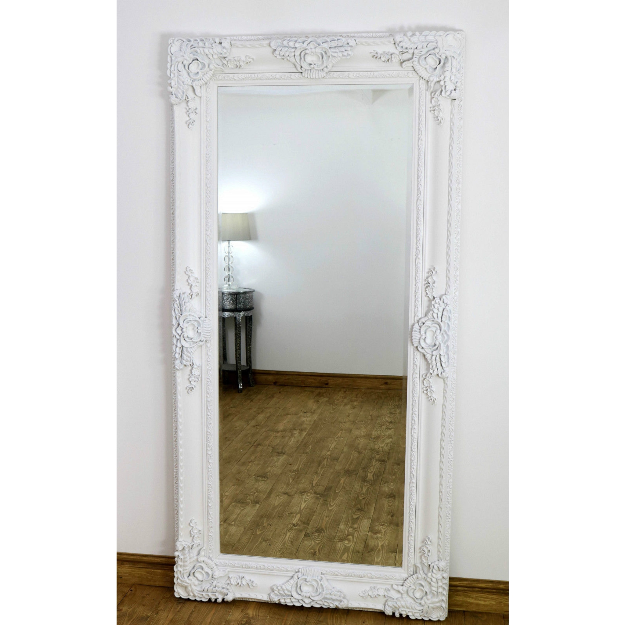 Flooring Some Bevelled Floor Mirrors That Luxury For Every Intended For Vintage White Mirrors (View 15 of 15)