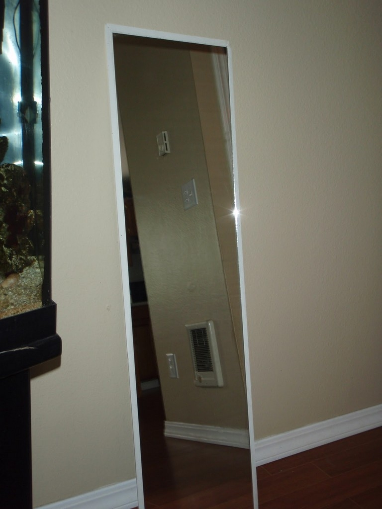Flooring Tall Standing Mirrors Leaning Floor Mirror Full Length In Big Standing Mirror (Image 6 of 15)