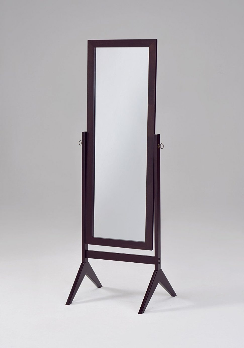 Flooring Tall Standing Mirrors Leaning Floor Mirror Full Length Throughout Big Standing Mirror (Image 7 of 15)