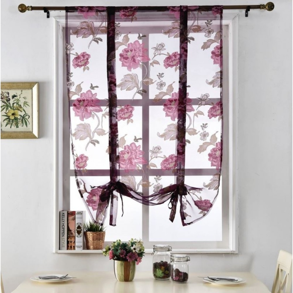Floral Roman Blinds For Floral Roman Blinds (Image 10 of 15)