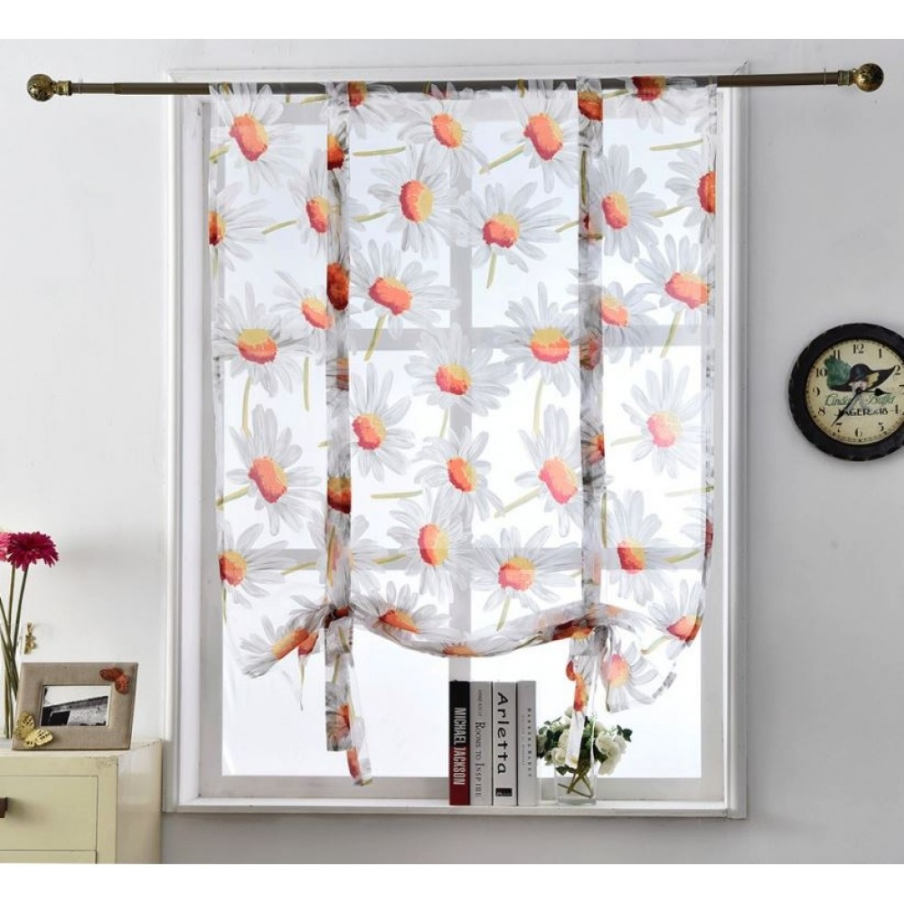 Floral Roman Blinds In Floral Roman Blinds (Image 11 of 15)