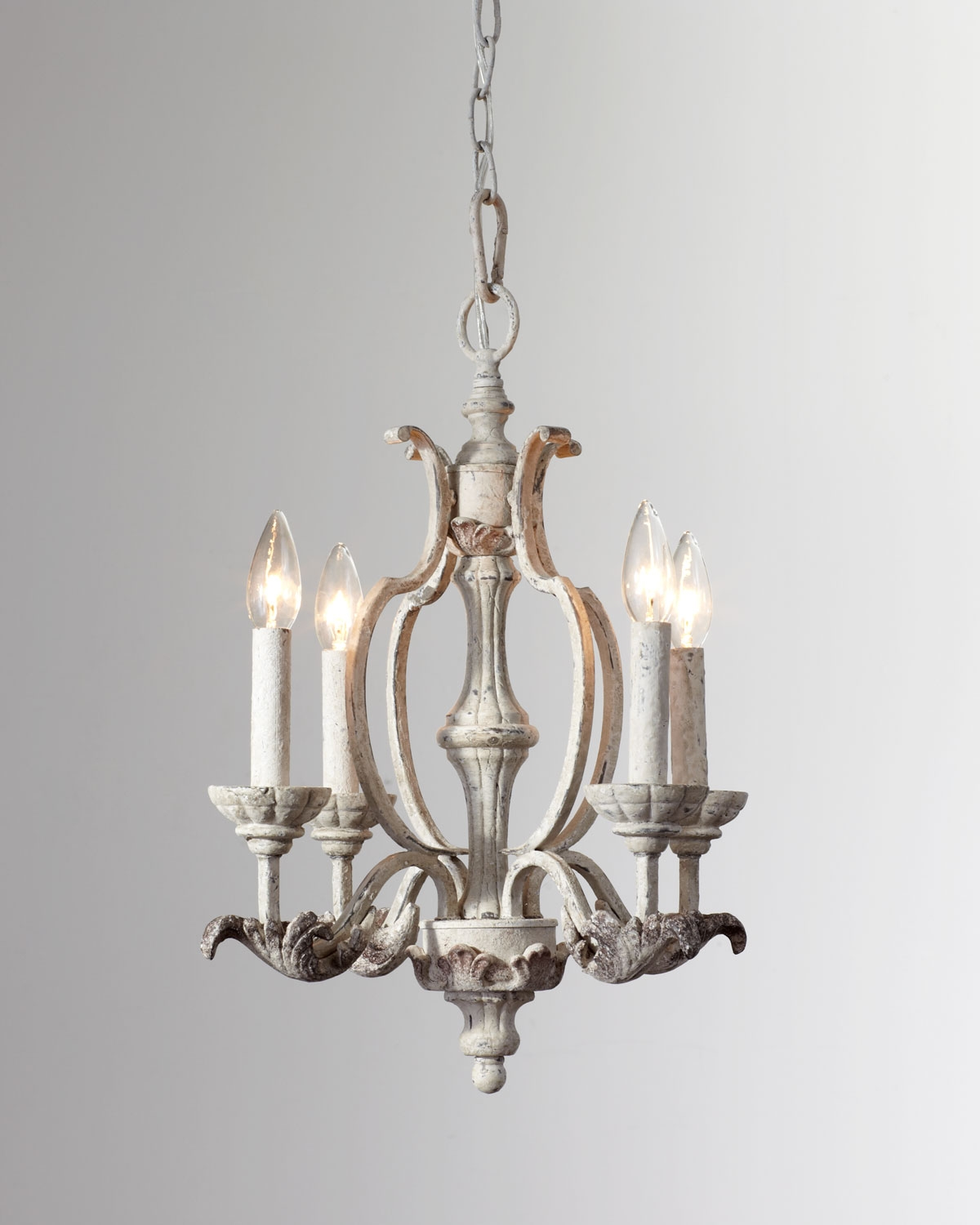 Florence 4 Light Mini Chandelier Florence Style And Classic Regarding Simple Glass Chandelier (Image 5 of 15)