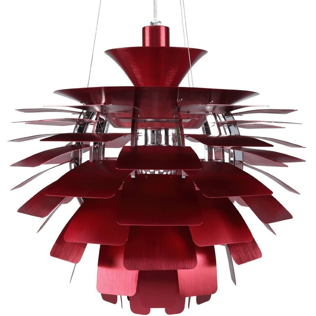 Flower Chandeliers Pendant Lighting Chandelier Top With Regard To Red Chandeliers (Image 8 of 15)