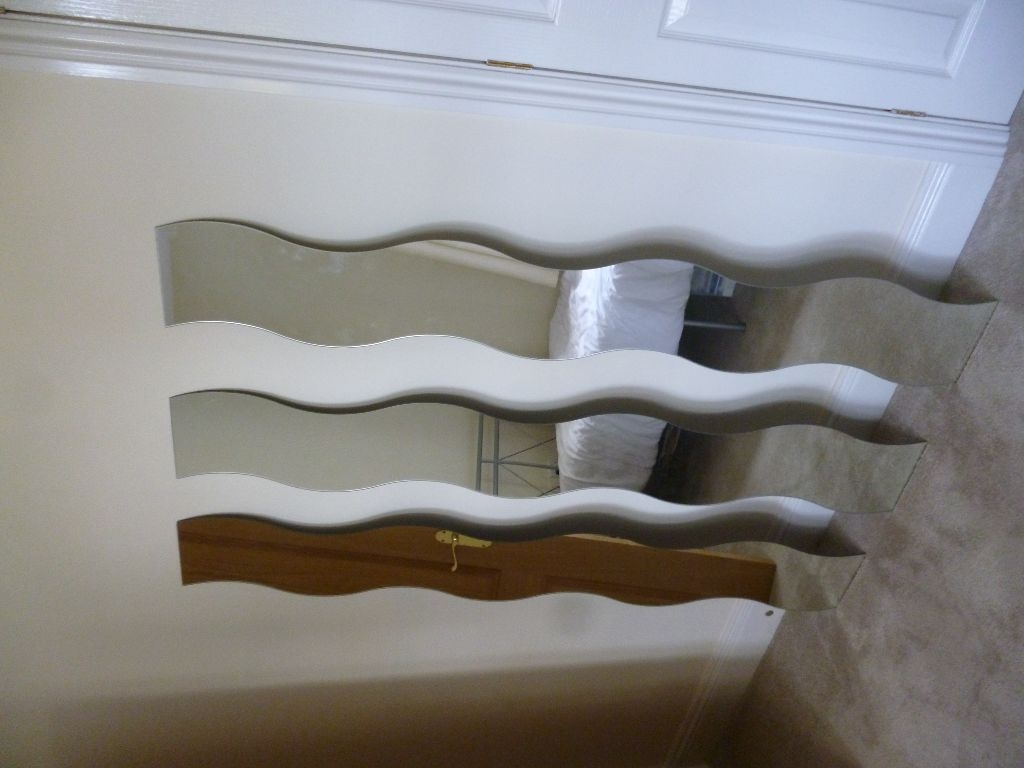 For Sale 3 X Ikea Curved Mirrors In Painswick Gloucestershire In Curved Mirrors For Sale (Image 4 of 15)