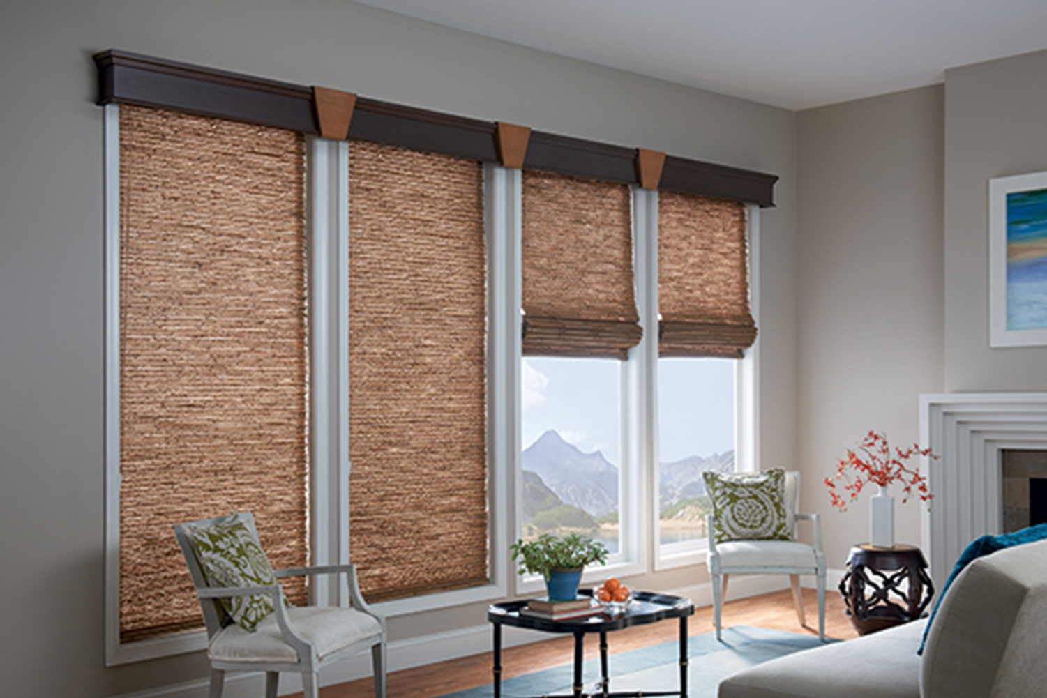 Fort Collins Roman Shades Window Shades The Blind Guy Intended For Custom Roman Blinds (Image 4 of 15)