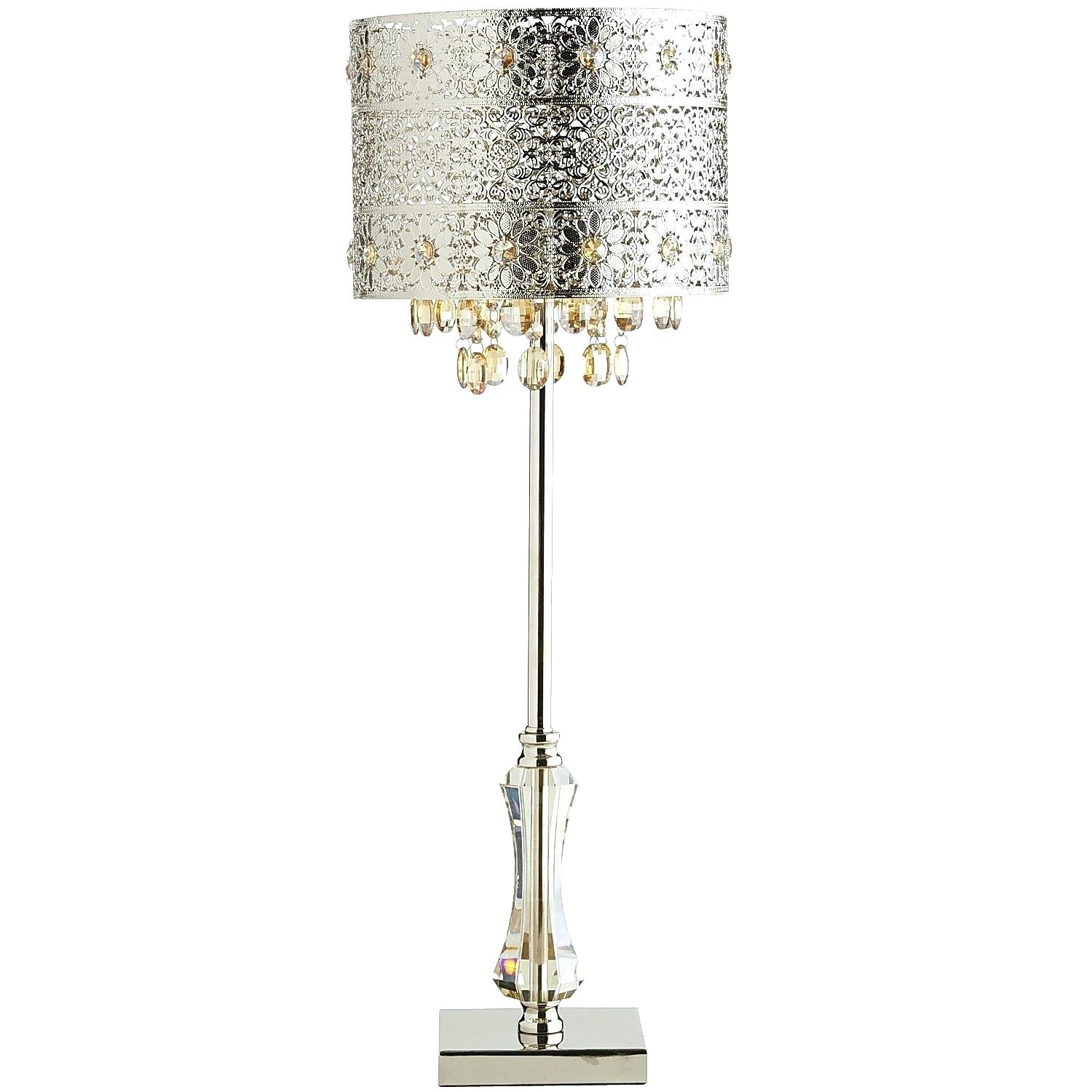 Foyer Chandelier Size Baccarat Crystal Table Lamp Baccarat Crystal With Crystal Table Chandeliers (Image 10 of 15)