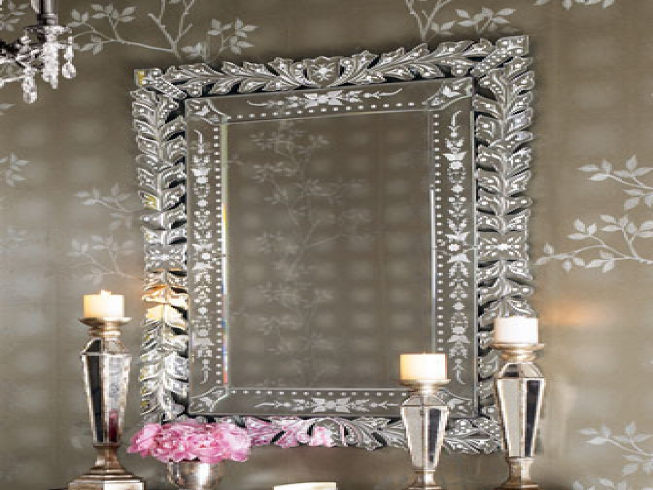 Framed Oval Mirrors For Bathrooms Beach Themed Wall Mirrors Intended For Venetian Mirror Large (Image 5 of 15)