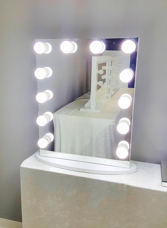Frameless Mirror Etsy Regarding Vintage Frameless Mirror (View 12 of 15)