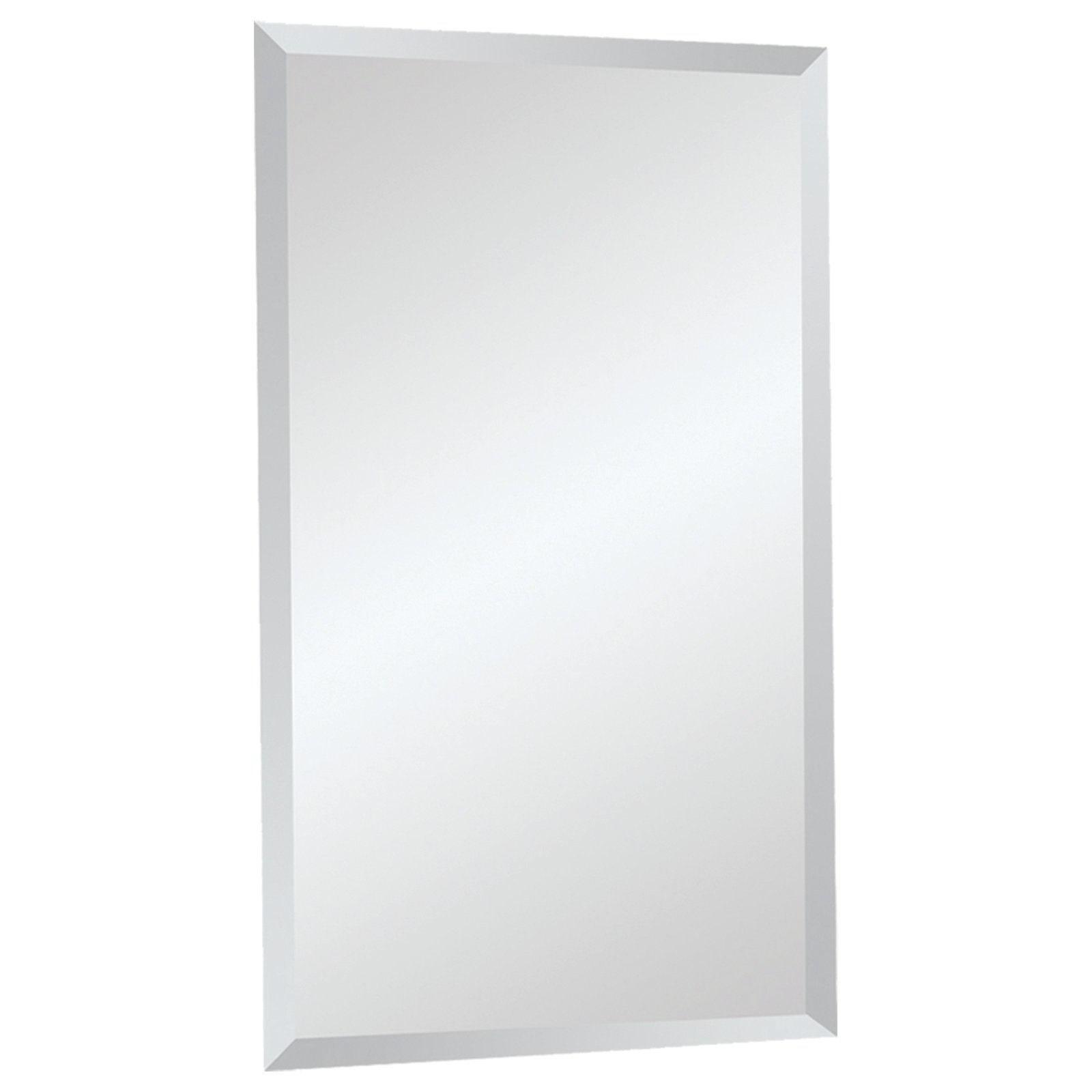 Frameless Mirrors Youll Love Wayfair Pertaining To Wall Mirror Without Frame (Image 3 of 15)