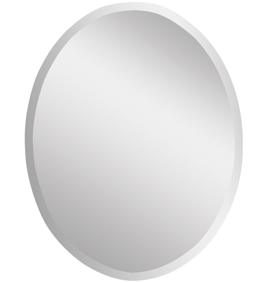 Frameless Oval Mirror Large Rejuvenation In Large Oval Mirrors (Image 3 of 15)