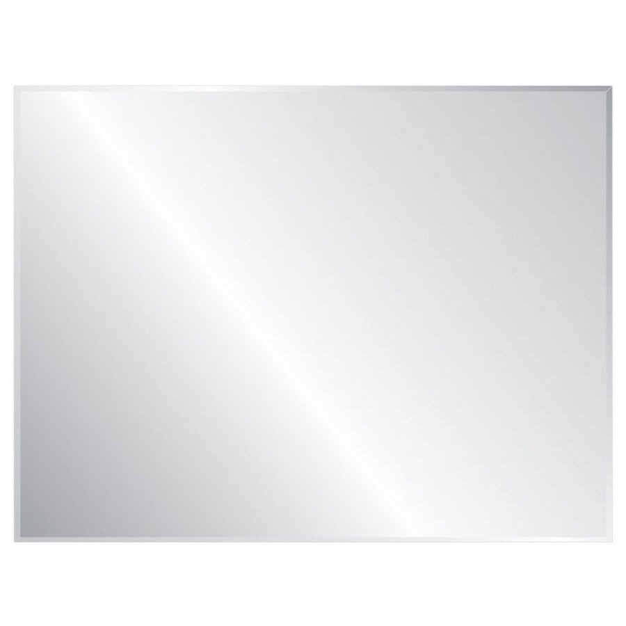 Frameless Wall Mirrors Lowes Canada Throughout Unframed Wall Mirror (Image 4 of 15)