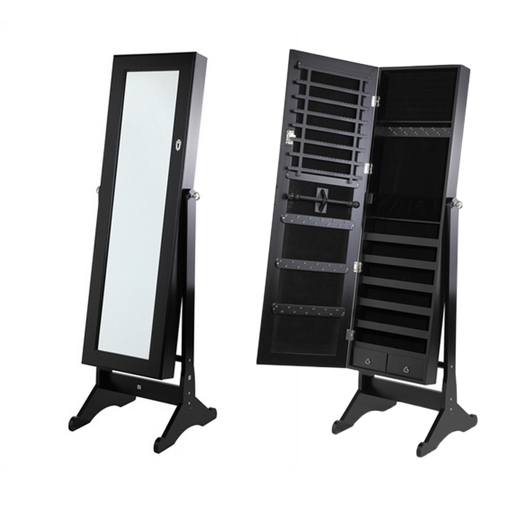 Free Standing Bedroom Mirrors Moncler Factory Outlets Pertaining To Free Standing Black Mirror (Image 8 of 15)