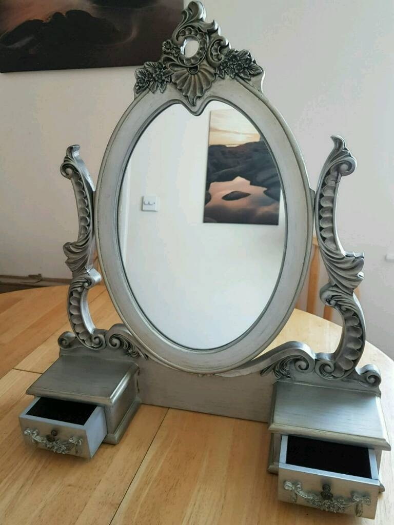 Free Standing Dressing Table Mirror In Chichester West Sussex Intended For Free Standing Dressing Table Mirror (Image 7 of 15)
