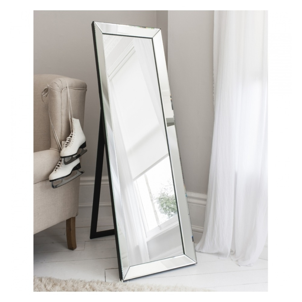 Free Standing Mirror Luna Cheval Mirror Throughout Cheval Freestanding Mirror (Image 11 of 15)