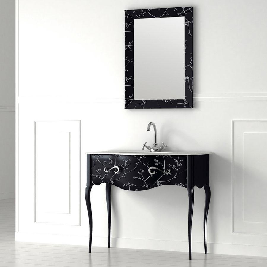 Free Standing Vanity Mirrors Globorank Regarding Vintage Free Standing Mirrors (Image 9 of 15)